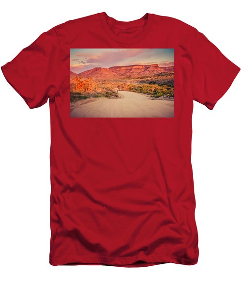 Eruptions On The Sun Men's T-Shirt (Athletic Fit)