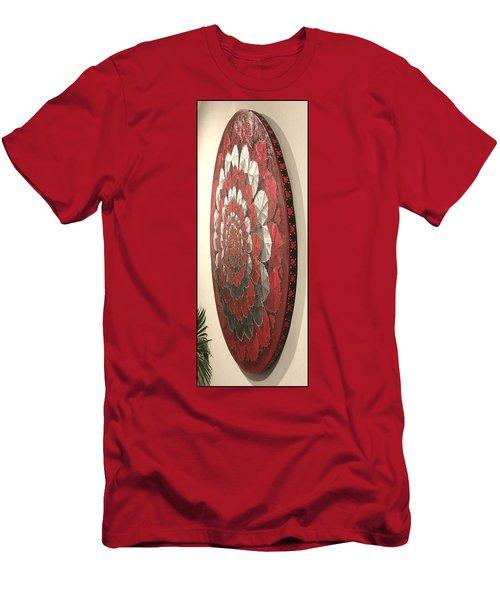 Eternal Hearts  Men's T-Shirt (Athletic Fit)