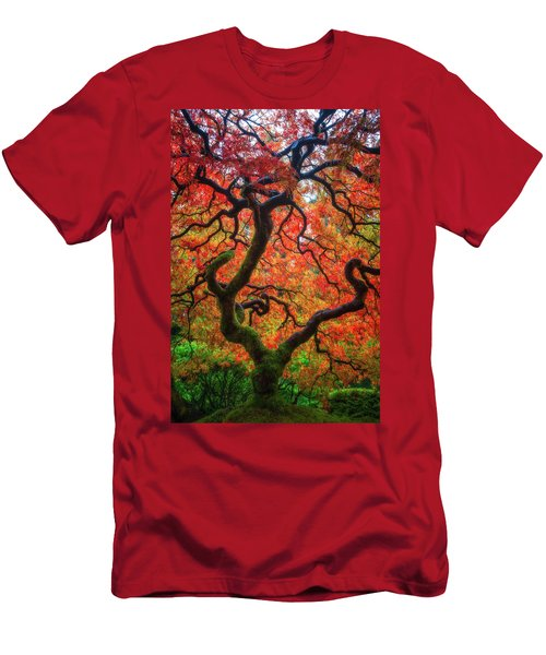 Men's T-Shirt (Slim Fit) featuring the photograph Ethereal Tree Alive by Darren White