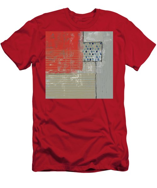 Evening Red Men's T-Shirt (Athletic Fit)
