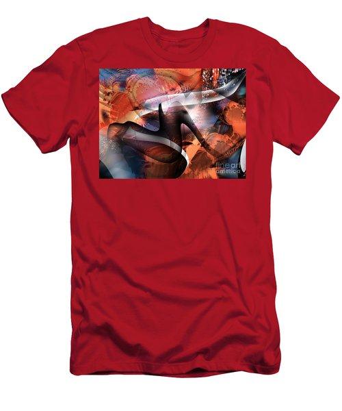 Deliverance Men's T-Shirt (Slim Fit) by Yul Olaivar