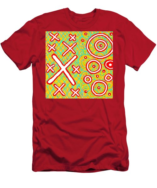 Exes And Ohs Men's T-Shirt (Athletic Fit)
