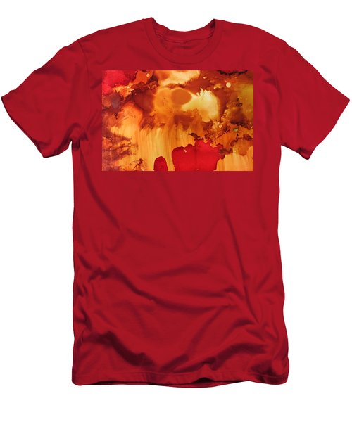 Explosion From The Galaxy Men's T-Shirt (Athletic Fit)