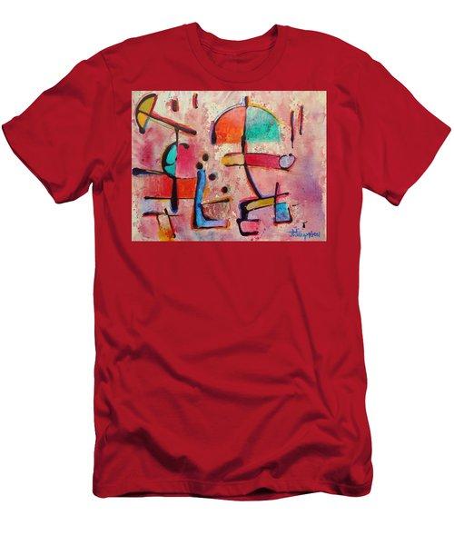 Expression # 12 Men's T-Shirt (Slim Fit) by Jason Williamson