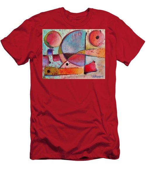 Expression # 13 Men's T-Shirt (Slim Fit) by Jason Williamson