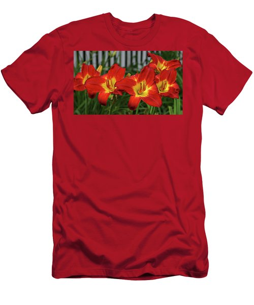 Men's T-Shirt (Slim Fit) featuring the photograph Eye Catching by Sandy Keeton