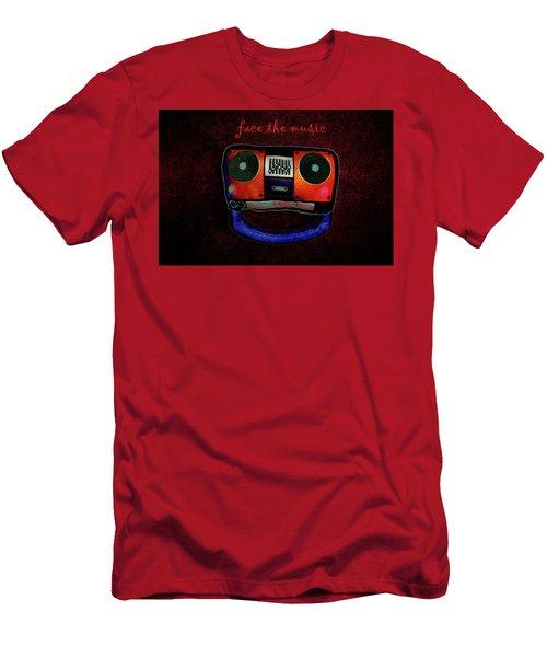 Face The Music Men's T-Shirt (Athletic Fit)