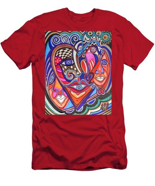 Faces Of Hope Men's T-Shirt (Athletic Fit)