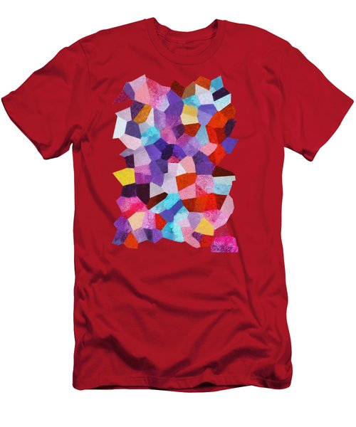 Fairy Tale Abstract Men's T-Shirt (Athletic Fit)