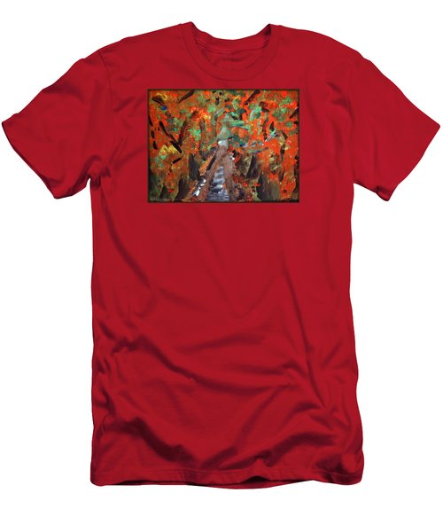 Fall By Colleen Ranney Men's T-Shirt (Athletic Fit)