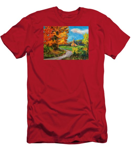 Fall Church Men's T-Shirt (Athletic Fit)