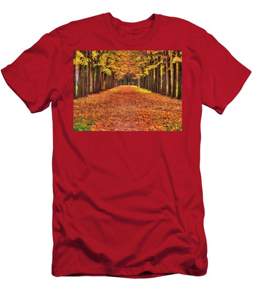Fall Colors Avenue Men's T-Shirt (Athletic Fit)