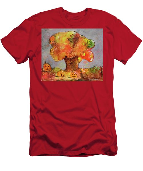 Fall Fun Men's T-Shirt (Slim Fit) by Terry Honstead