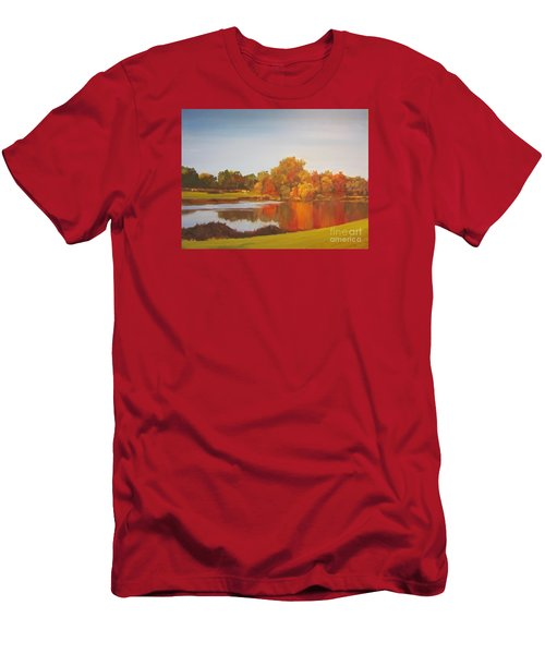 Fall Perfection Men's T-Shirt (Slim Fit) by Elizabeth Carr