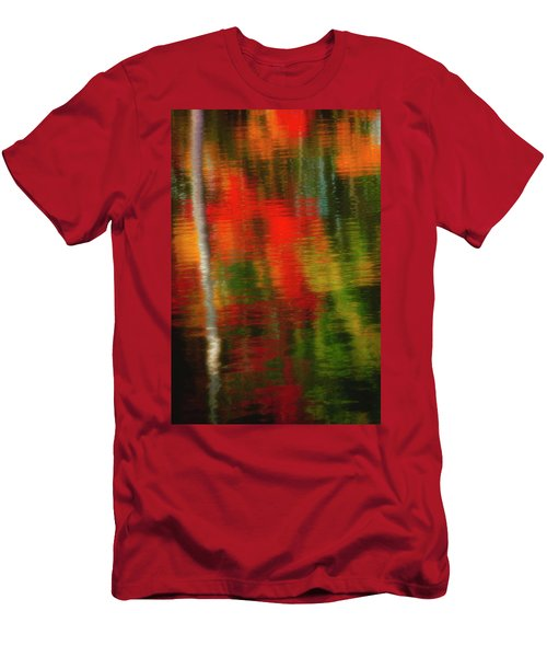 Fall Reflections Men's T-Shirt (Slim Fit) by David Cote