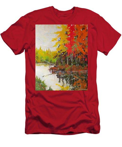 Fall Scene Men's T-Shirt (Athletic Fit)