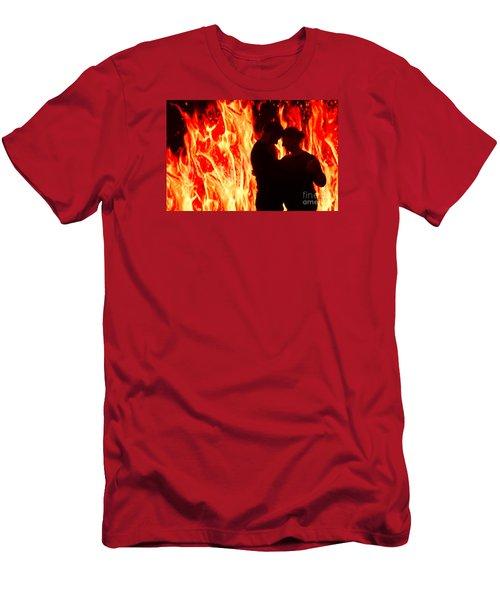 False Alarm Men's T-Shirt (Athletic Fit)