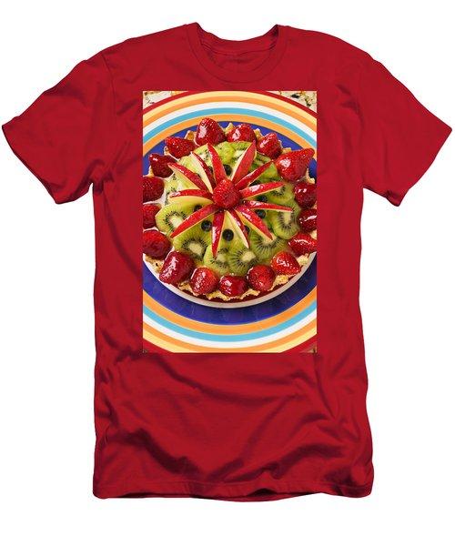 Fancy Tart Pie Men's T-Shirt (Slim Fit) by Garry Gay