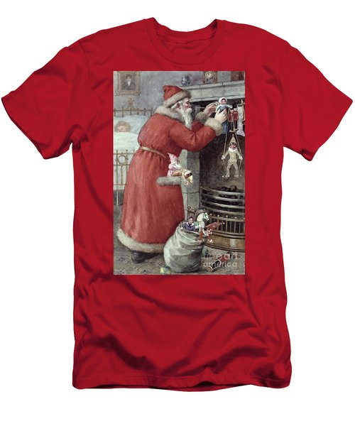 Father Christmas Men's T-Shirt (Athletic Fit)