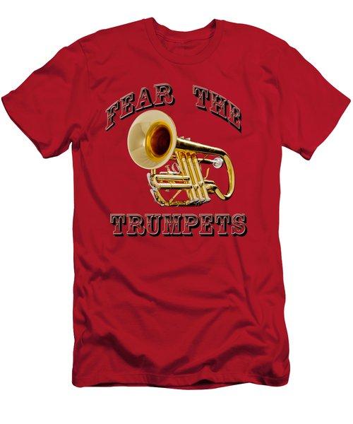 Fear The Trumpets. Men's T-Shirt (Slim Fit) by M K  Miller