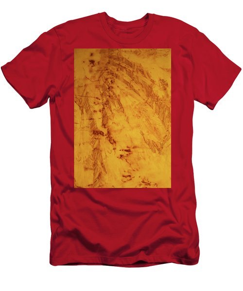 Feathers On The Wind Men's T-Shirt (Slim Fit) by Cynthia Powell