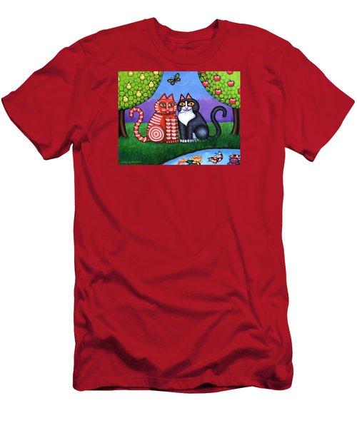 Feeling Koi Men's T-Shirt (Athletic Fit)