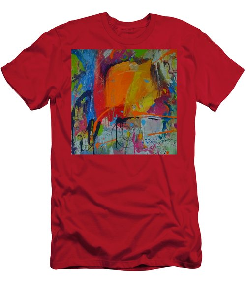 Feeling Melancholy Men's T-Shirt (Slim Fit) by Terri Einer