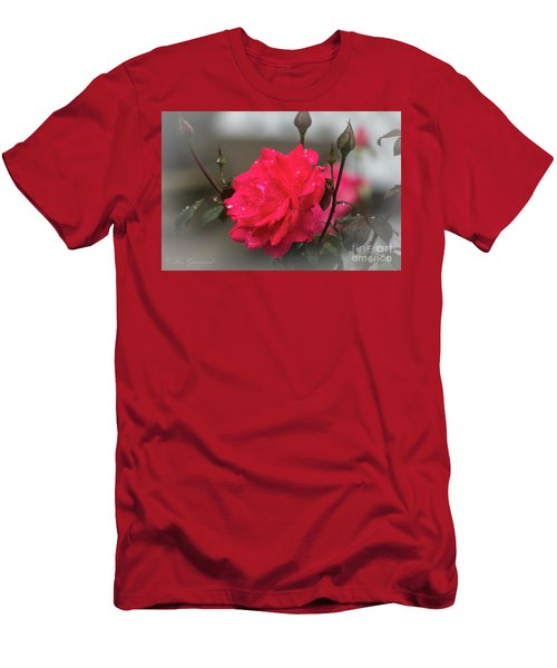 Feeling Rosy Men's T-Shirt (Athletic Fit)