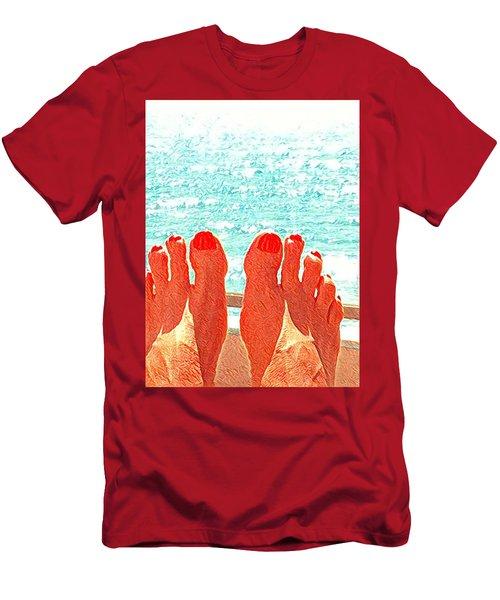 Feets Don't Fail Me Now Men's T-Shirt (Athletic Fit)