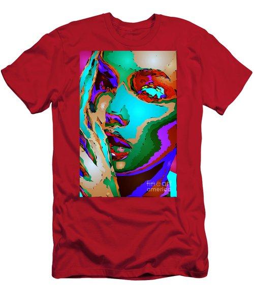 Female Tribute V Men's T-Shirt (Athletic Fit)
