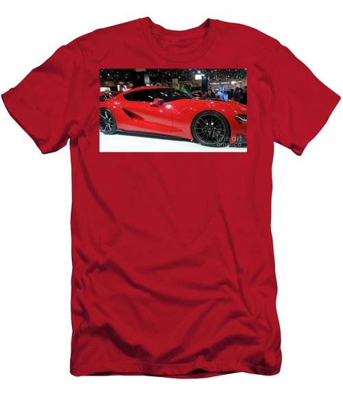 Red Ferrari Men's T-Shirt (Athletic Fit)