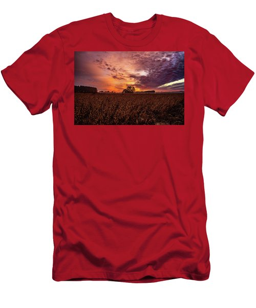 Field Of Beans Men's T-Shirt (Athletic Fit)
