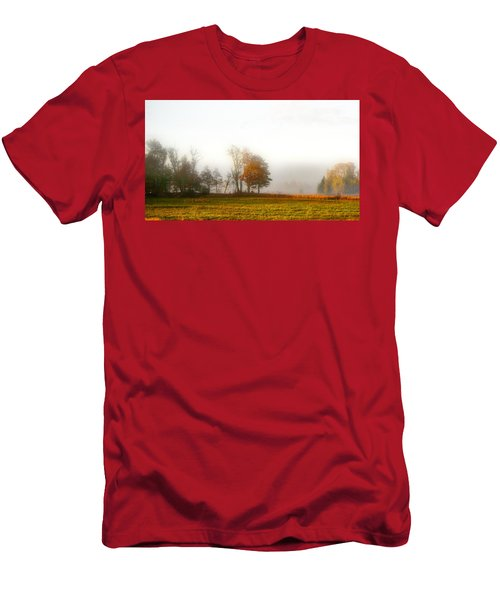 Field Of The Morn Men's T-Shirt (Athletic Fit)