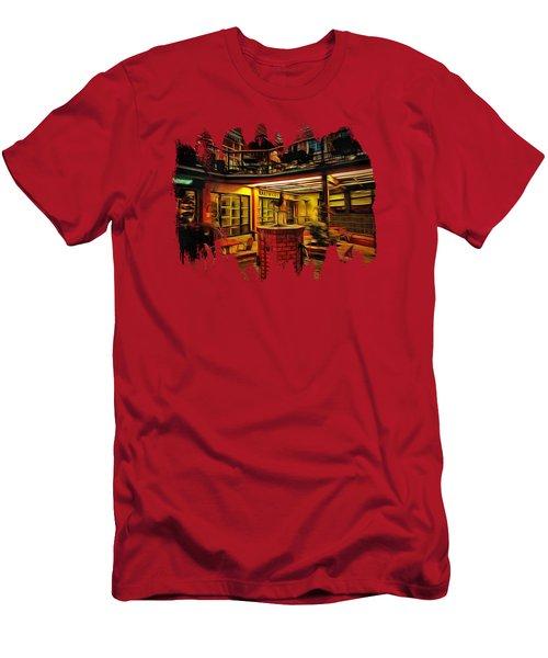 Fifth Street Public Market Men's T-Shirt (Slim Fit) by Thom Zehrfeld