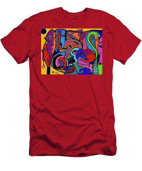 Find The Hog Men's T-Shirt (Athletic Fit)
