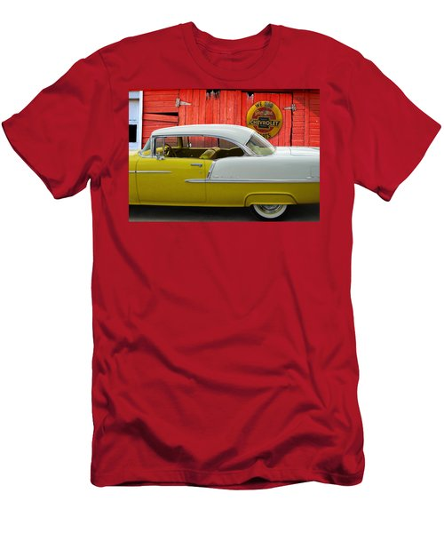 Men's T-Shirt (Slim Fit) featuring the photograph Fine 55 by Rod Seel