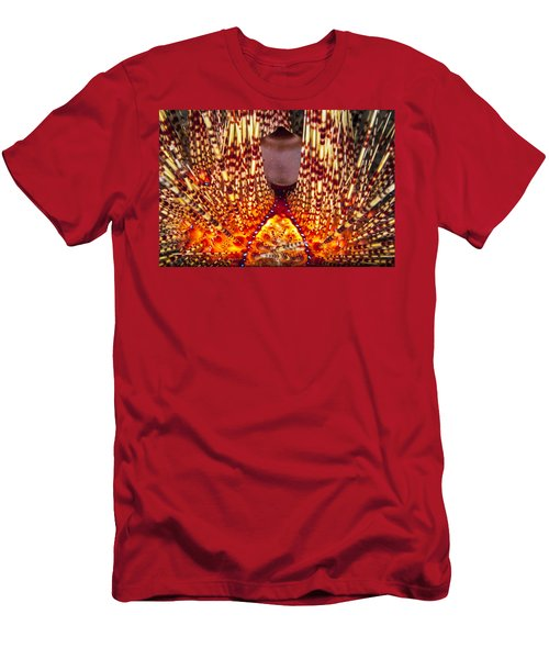 Fire Beneath The Waves Men's T-Shirt (Athletic Fit)