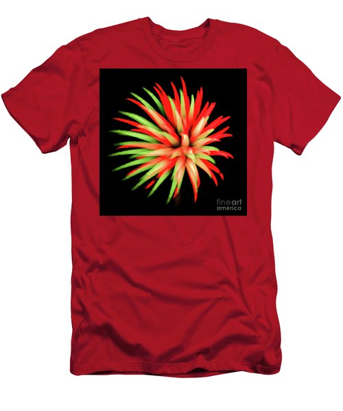 Fire Burst Men's T-Shirt (Athletic Fit)