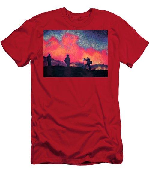 Fire Crew Men's T-Shirt (Athletic Fit)