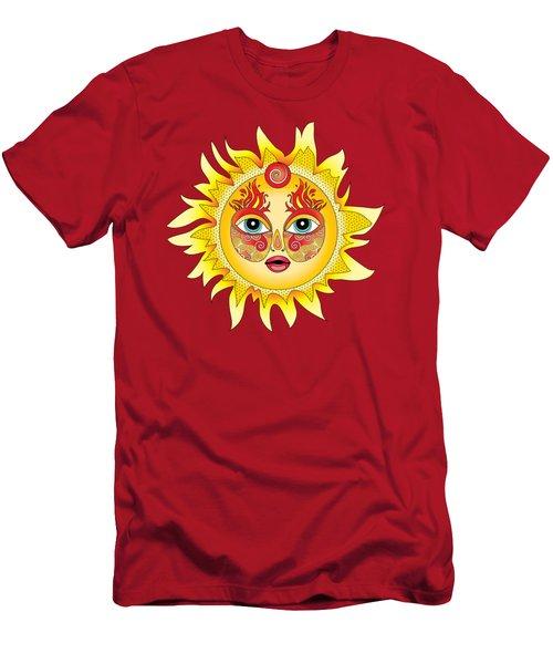 Fire Element Men's T-Shirt (Athletic Fit)