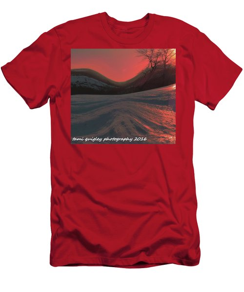 Fire Frost Men's T-Shirt (Athletic Fit)