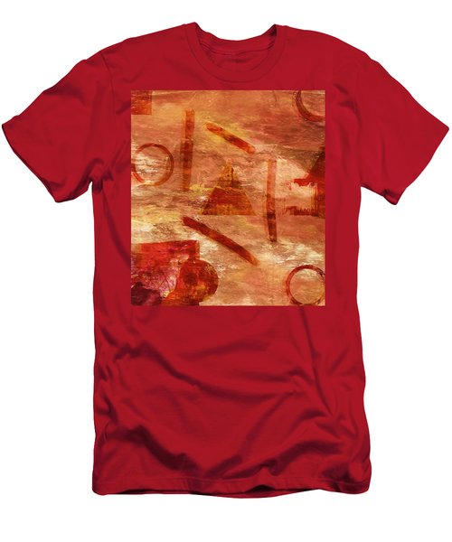 Fire Triangle Men's T-Shirt (Athletic Fit)