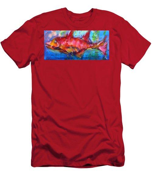 Fish 4 Men's T-Shirt (Athletic Fit)