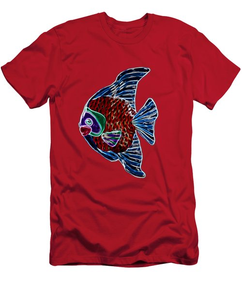 Fish In Water Men's T-Shirt (Athletic Fit)