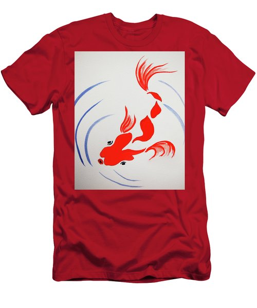 Fish Swish Men's T-Shirt (Athletic Fit)