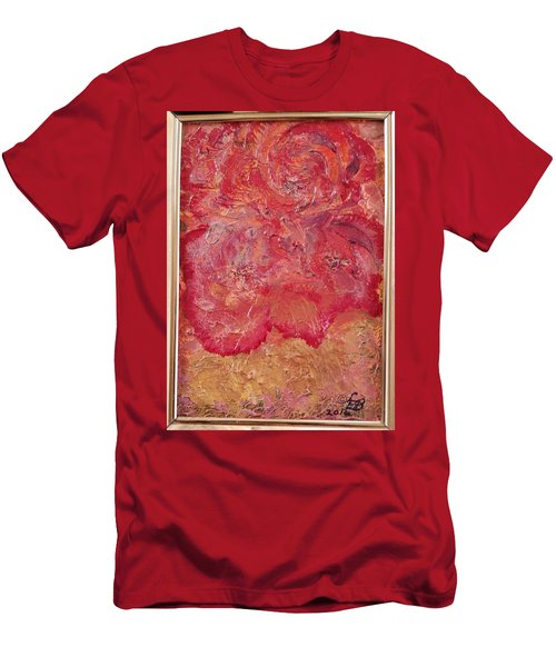 Floral Abstract 2 Men's T-Shirt (Athletic Fit)