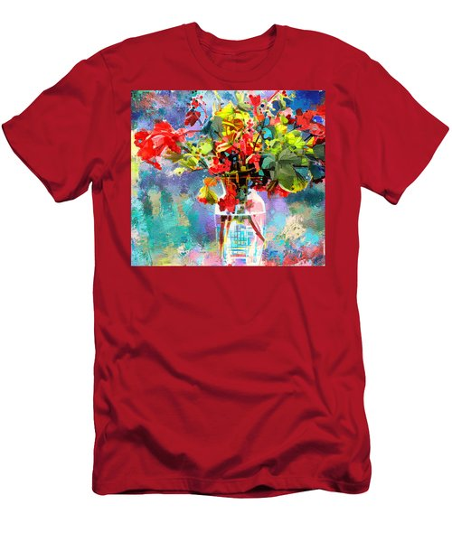 Flower Festival Men's T-Shirt (Athletic Fit)