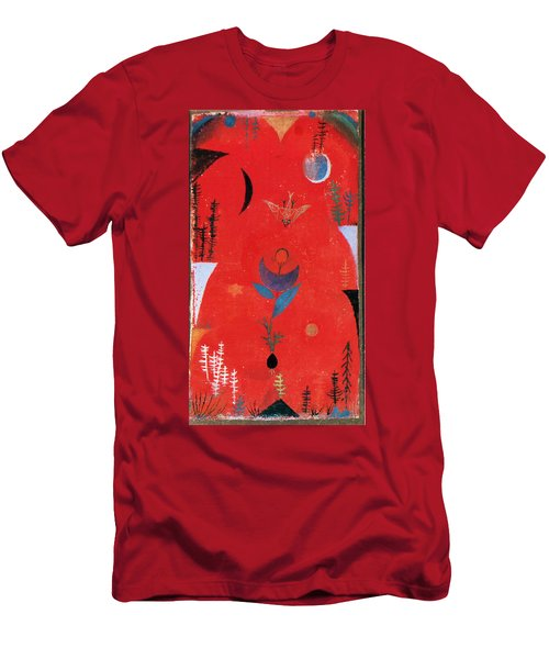 Flower Myth Men's T-Shirt (Slim Fit) by Paul Klee