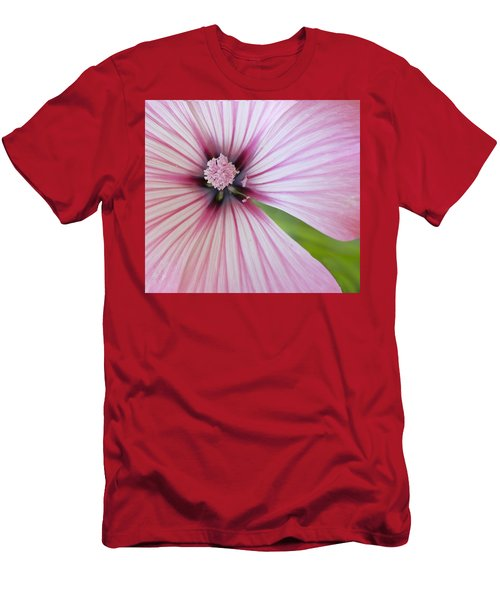 Flower Star Men's T-Shirt (Slim Fit) by Elvira Butler