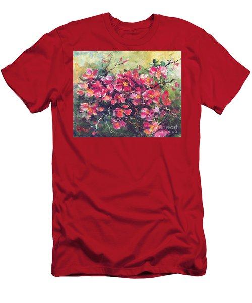 Flowering Quince Men's T-Shirt (Athletic Fit)